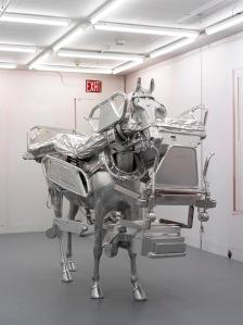 Urs_Fischer_2013 (ed 3) Horse-Bed