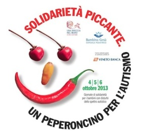 If you're in any of these piazzas this weekend… Buy a pepper plant in support of autisticchildren!