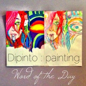 Word of the Day: Dipinto