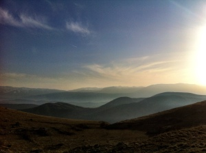 Abruzzo rolling hills