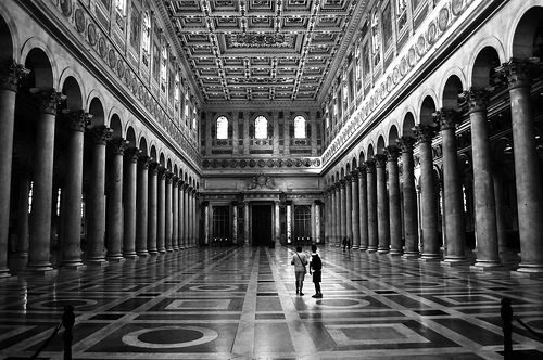 Basilica San Paolo Fuori le Mura, picture by Emanuele Longo on Flickr