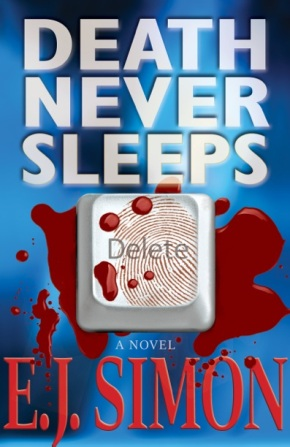 A lil' book review: Death Never Sleeps by E.J.Simon