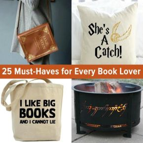 25 Must-Haves for all Book Lovers (let's support children's literacy!)