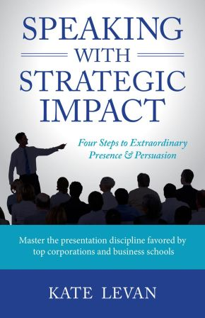 Speaking With Strategic Impact: how not to be scared of that presentation you have to give at work